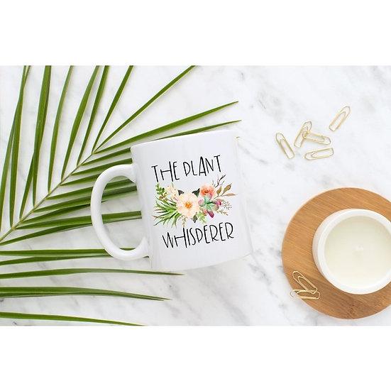 The Plant Whisperer Mug 15 oz.