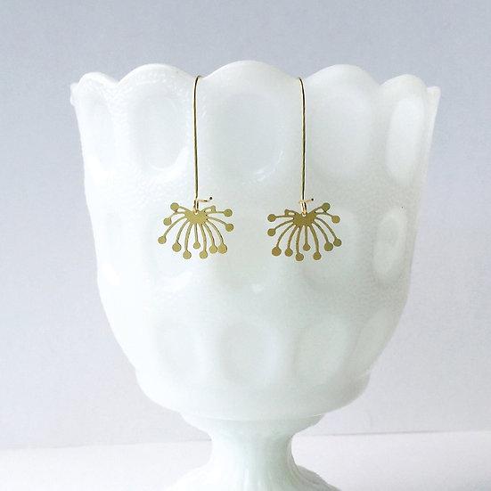 Dandelion Fluff Earrings