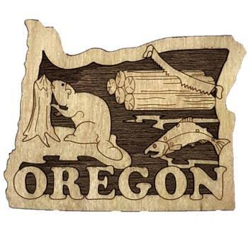 Oregon State Magnet