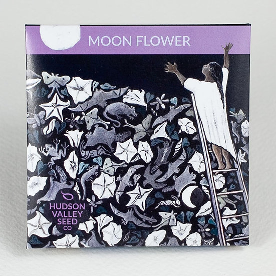 Hudson Valley Seed Co. Moon Flower Seed Packet