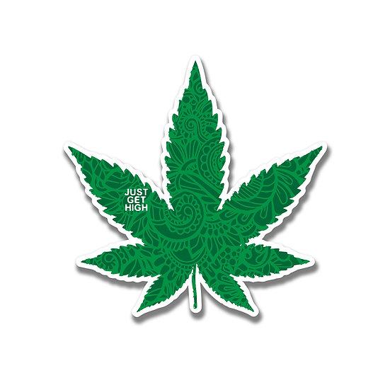 Fancy Leaf Sticker
