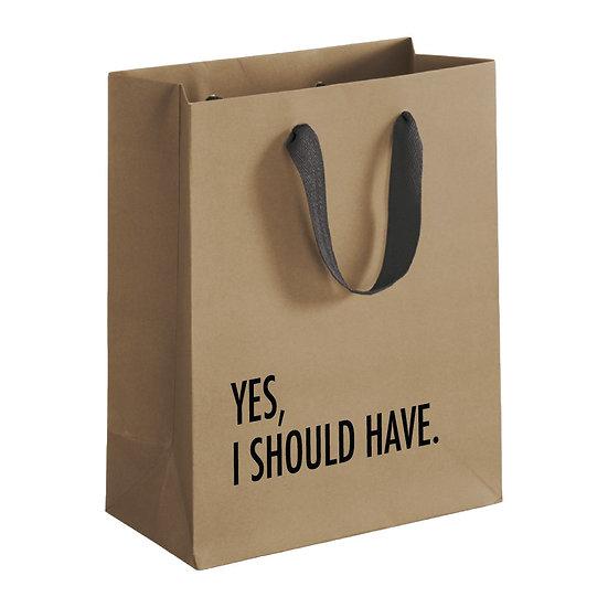 Yes I should Gift Bag