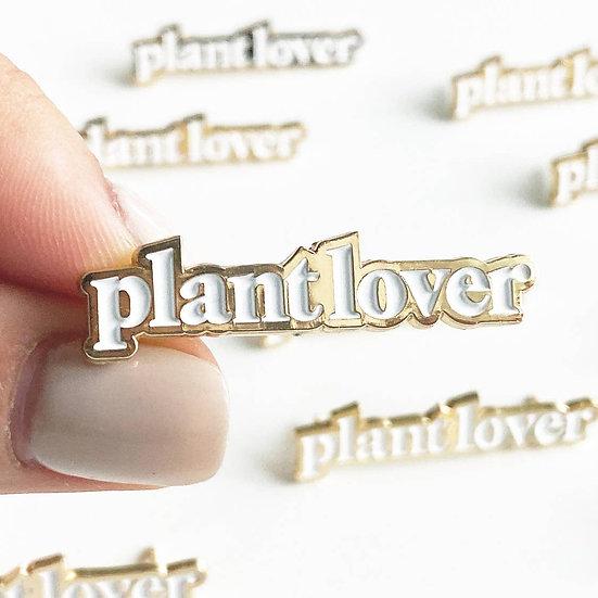 Plant Lover Lapel PIn