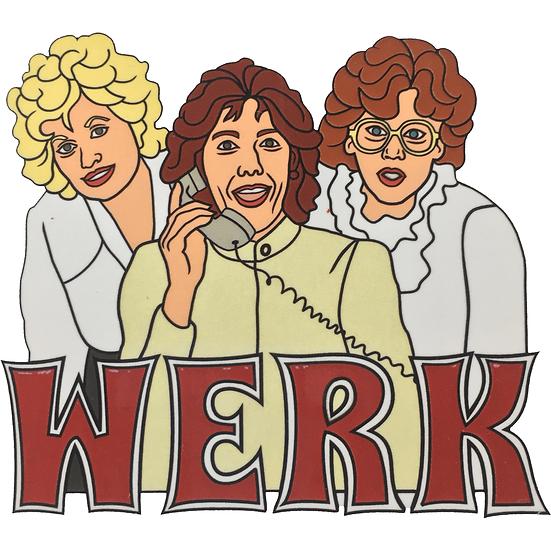 WERK 9-5 Sticker