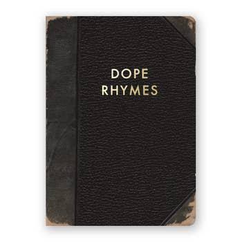 Dope Rhymes Journal - Medium