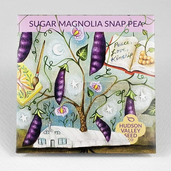 Hudson Valley Seed Co. Sugar Magnolia Snap Pea