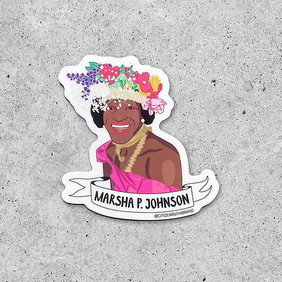 Marsha P. Johnson Sticker