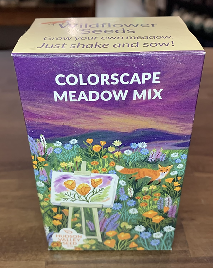 Colorscape Meadow Mix Seed Shaker - Hudson Valley Seed Co.