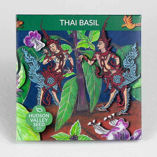 Hudson Valley Seed Co. Thai Basil