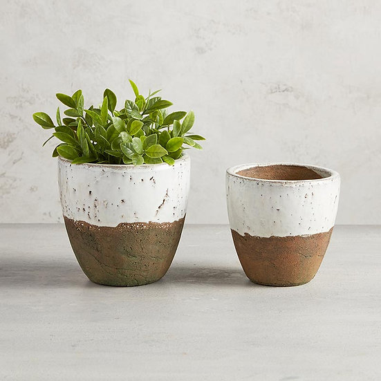 Two-Tone Planter Pot - Large