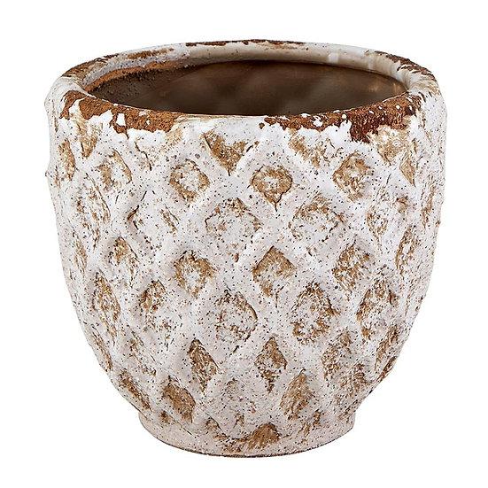 Diamond Pattern Pot - Small