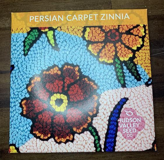 Persian Carpet Zinnia - Hudson Valley Seed Co.