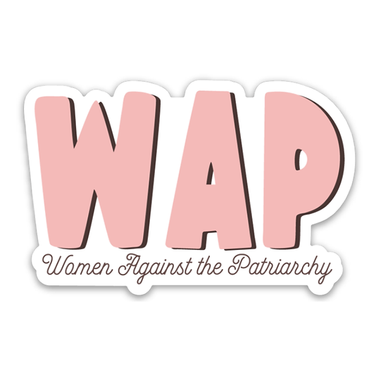Women Against the Patriarchy Sticker