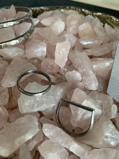 Mined & Metal Handmade Rings