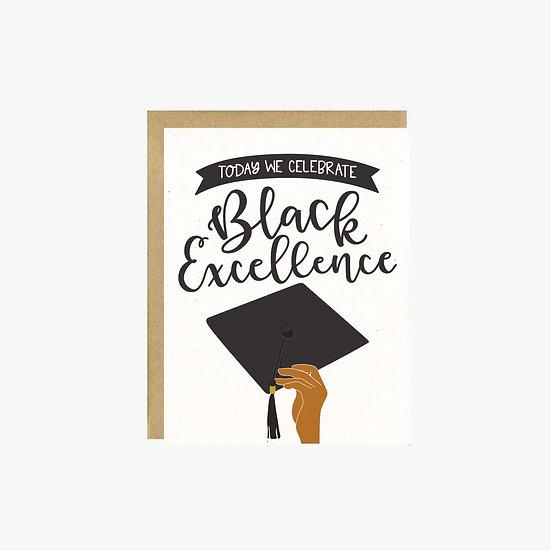 Black Excellence Grad Card