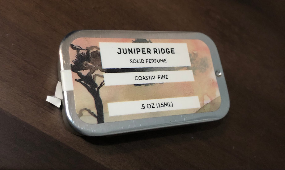 Juniper Ridge Solid Perfume