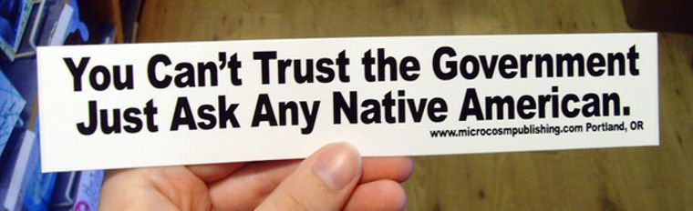 You Can't Trust the Government Sticker