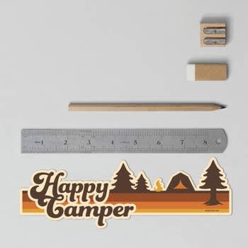 Tent Bumper Sticker