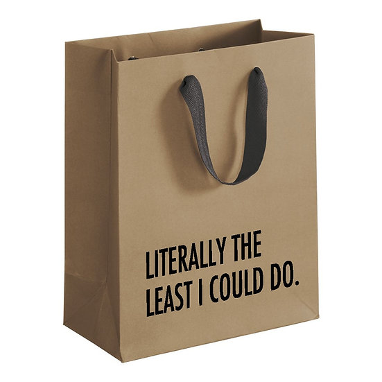Literally Least Gift Bag