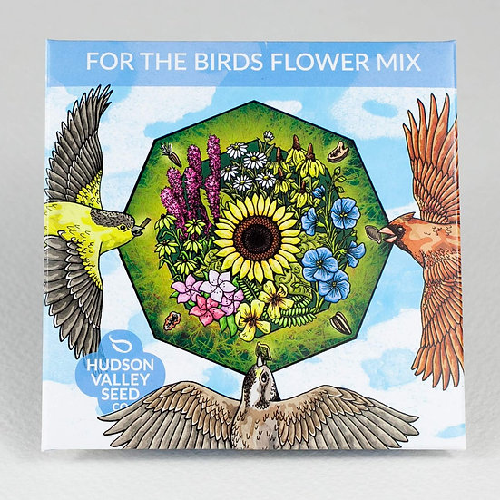 Hudson Valley Seed Co. For the Birds Flower Mix