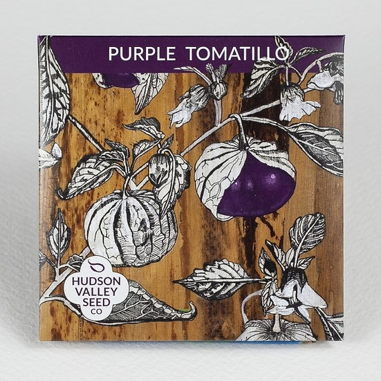 Hudson Valley Seed Co. Purple Tomatillo