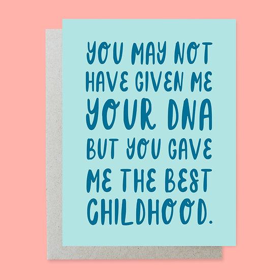 Best Childhood Greeting Card