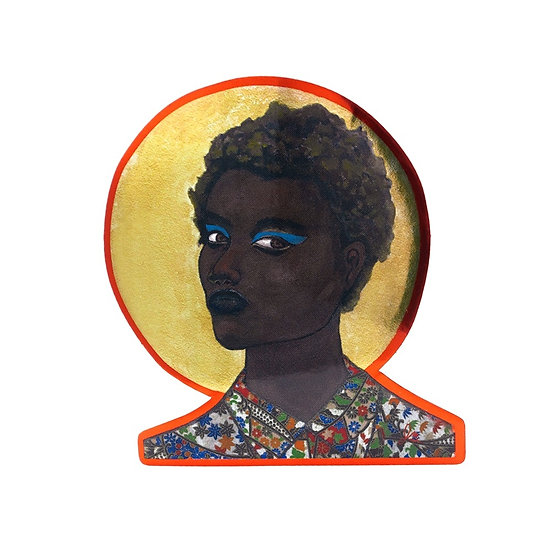 Portrait I Art Sticker