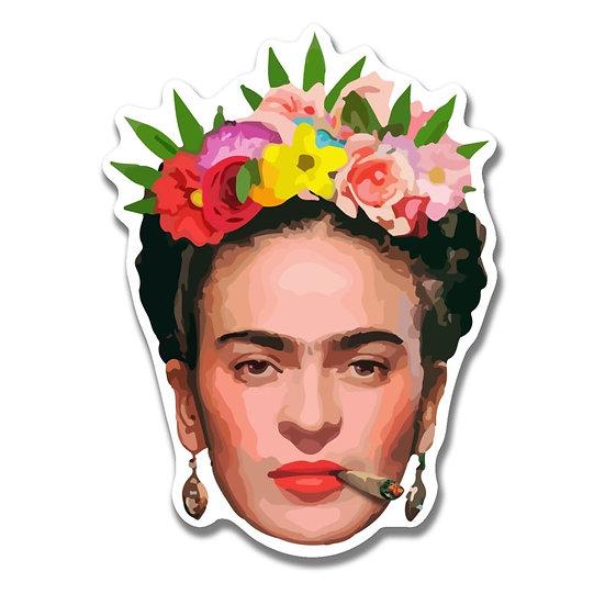 Frida Kahlo Blunt Sticker
