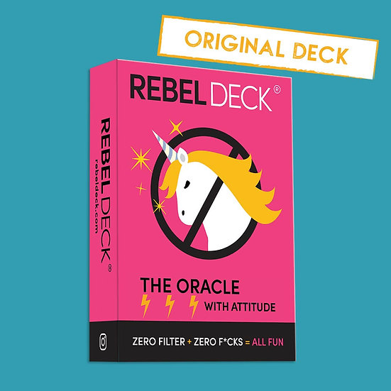 Rebel Deck - The Original Oracle Deck With Attitude