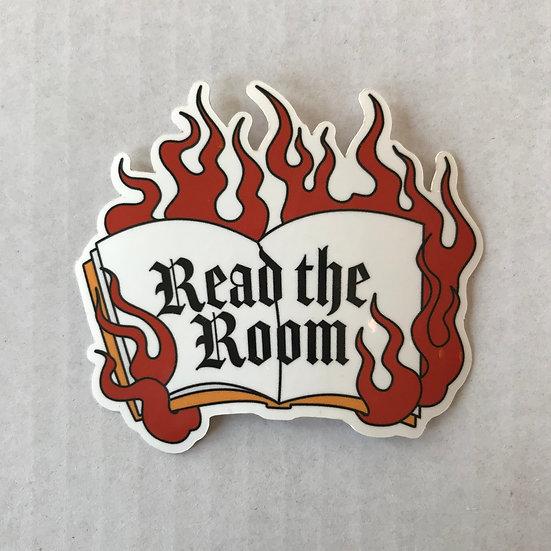Read the Room Sticker