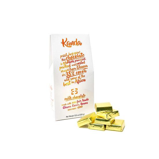 Milk Chocolate Mini's - 38% Ghana Cocoa