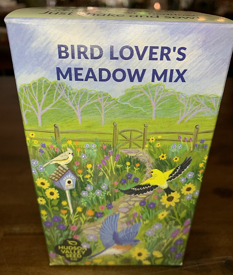 Bird Lover's Meadow Mix Seed Shaker - Hudson valley Seed Co.