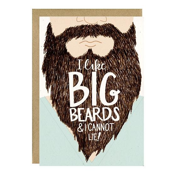 I Like Big Beards Card