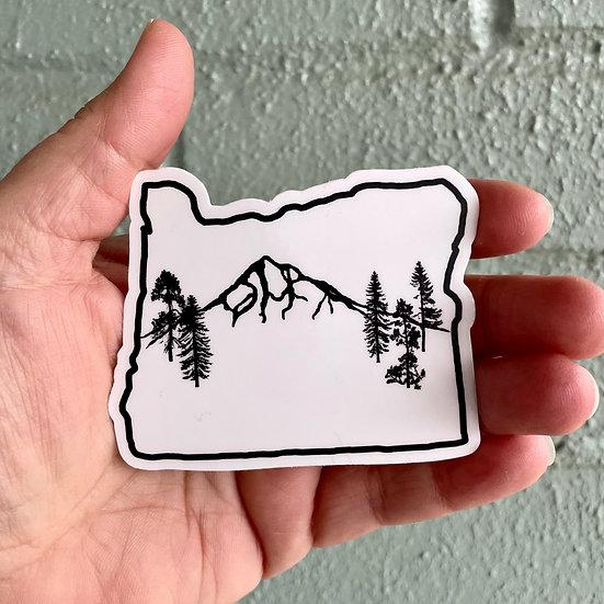 Mt. Hood Forest Sticker