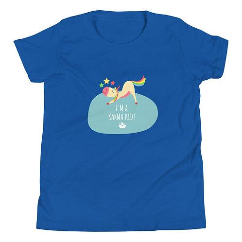 Karma Kids T-Shirt - Royal Blue S M L XL