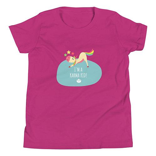 Karma Kids T-Shirt - Berry S M L XL
