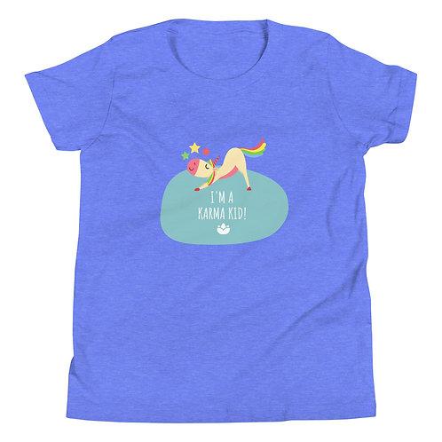 Karma Kids T-Shirt -   Heather S M L XL