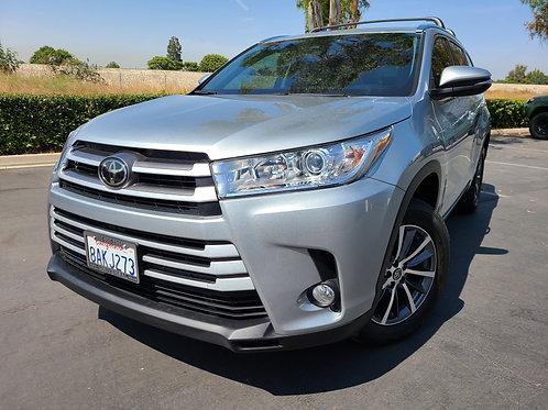 2017 Toyota Highlander XLE - 29K Miles