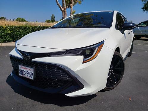 2020 Toyota Corolla SE Nightshade Hatchback - 4K Miles