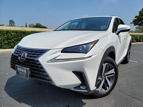 2019 Lexus NX300h, AWD, Navigation, Moonroof - 34K Miles