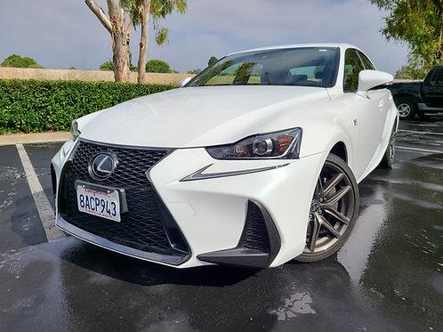 2017 Lexus IS 200T - 56K Miles