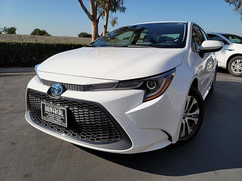 2021 Toyota Corolla LE Hybrid