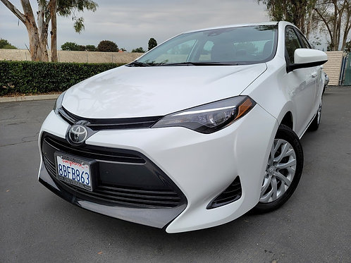 2018 Toyota Corolla LE - Only 7K Miles!