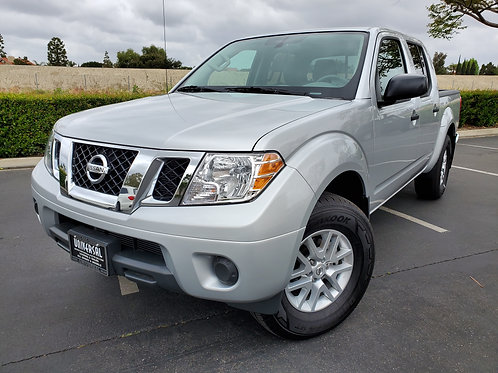 2019 Nissan Frontier SV BY Crew Cab