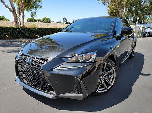 2018 Lexus IS 350 F-Sport - Only 19K Miles, Navigation, Moonroof