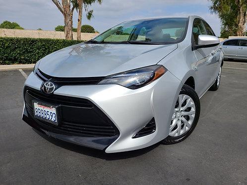 2017 Toyota Corolla LE - 32K Miles