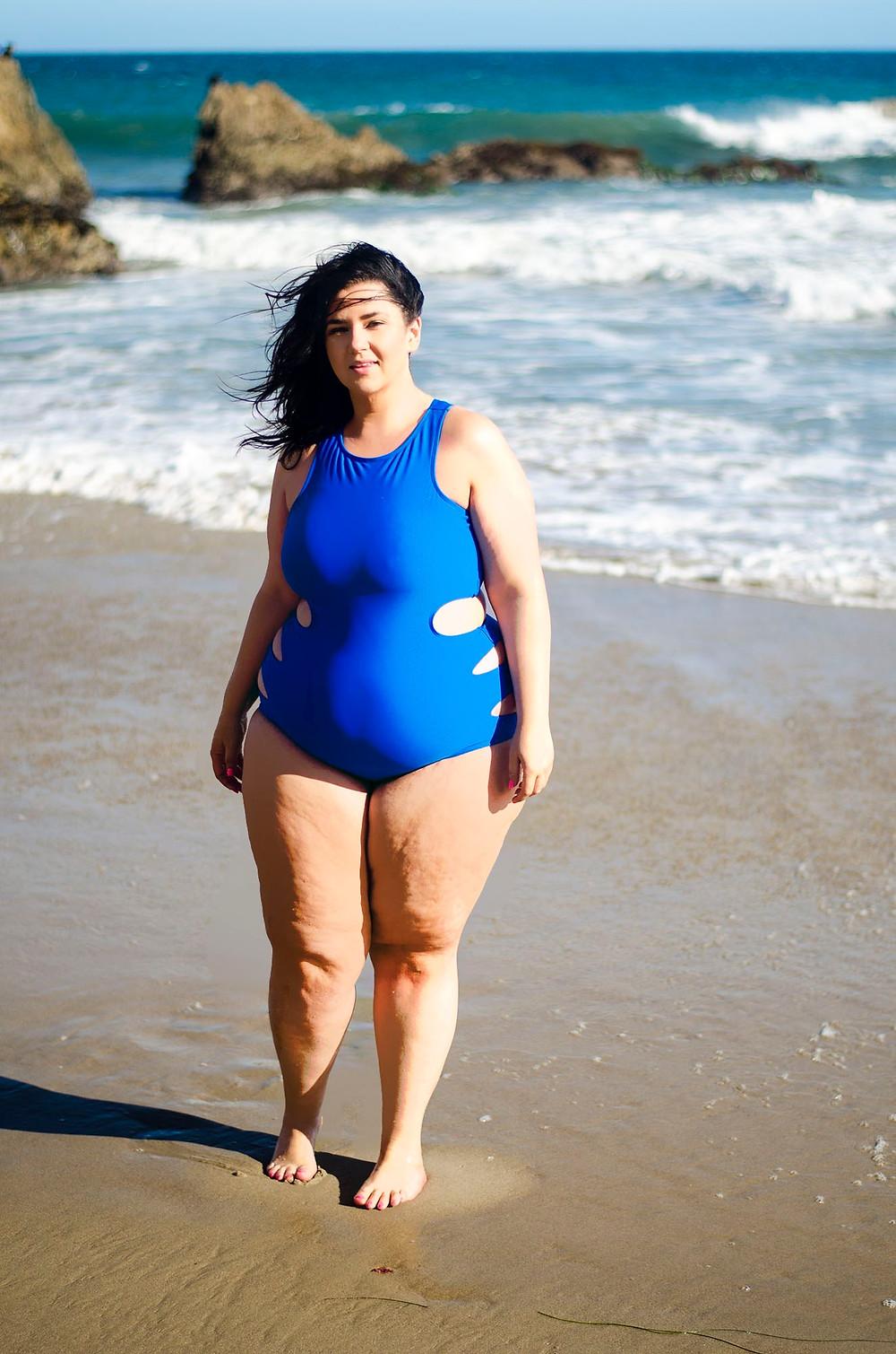 swim suit el matador beach plus size swimsuit ootd swim crystal coons sometimes glam swim week 2016 forever 21 plus