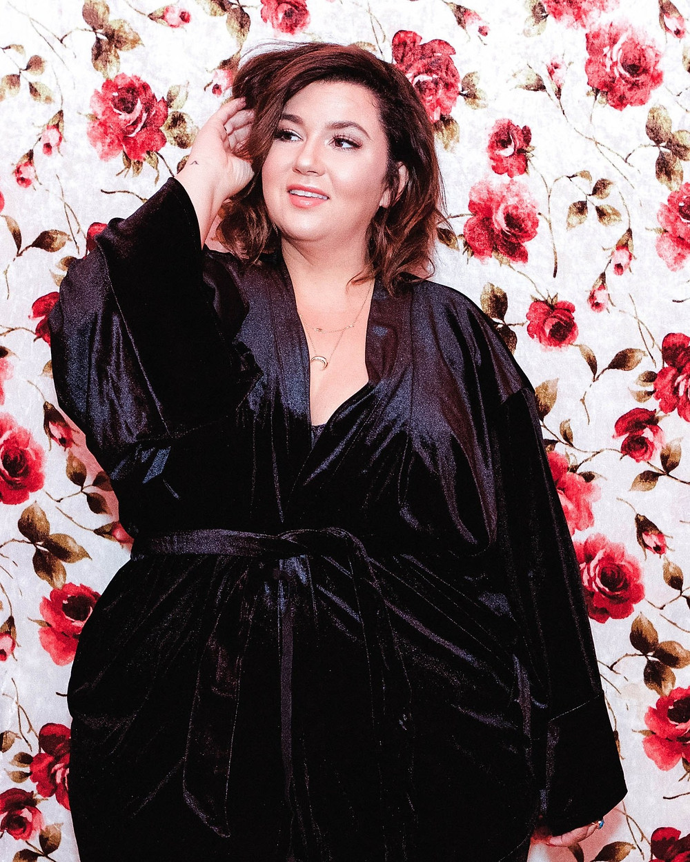 Lane Bryant Cacique Velvet Robe Plus Size Robe