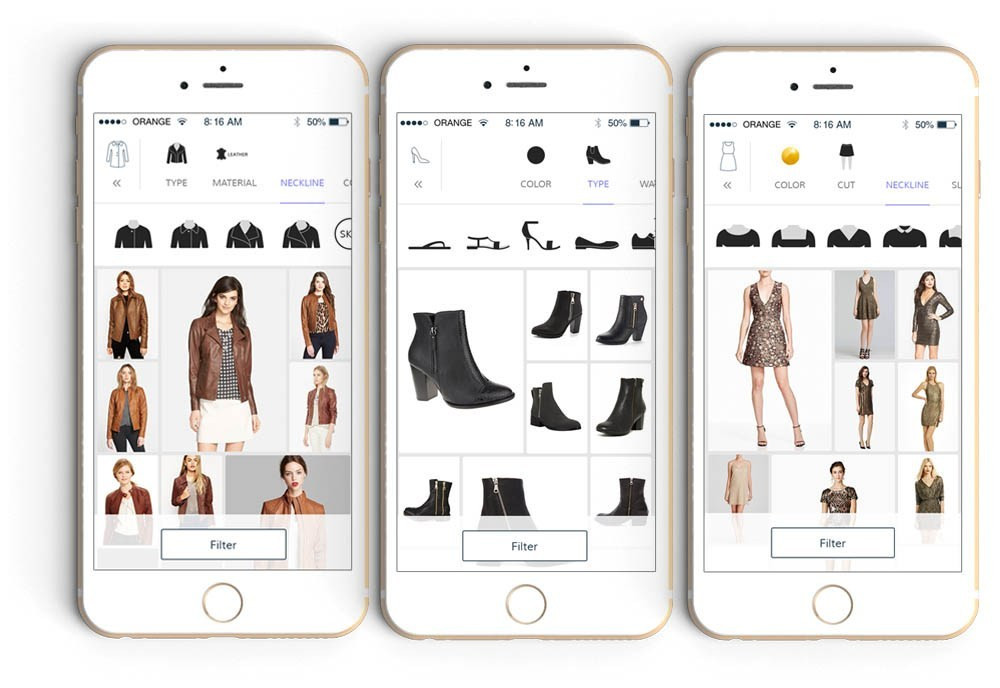 Shopping with Donde App Review Shopping App filter