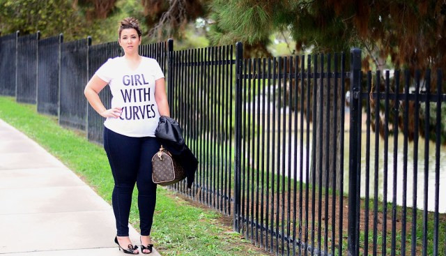 crystal coons sometimes glam torrid jeans girl with curves leather jacket